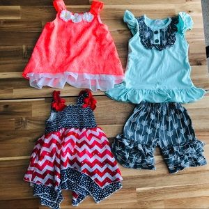 Girls 2t Tops/Outfit Bundle